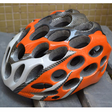 Hot Sale Orange 41 Holes Cycling Helmet MTB  Road Mountain Bike  Helmet