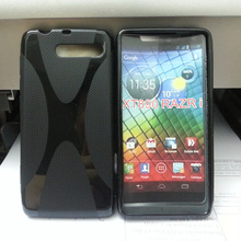 Soft Gel Skin X-Line Wave TPU Case Cover for MOTOROLA RAZR i XT890(China)