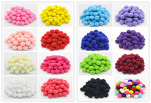 Lucia Crafts 50pcs/lot 20mm multi colors options Pompom Wedding Decoration Doll Accessories 22010041