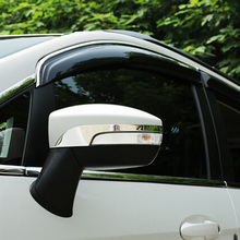 For Ford Kuga Escape 2013 2014 2015 With Turn Light Side Door Mirrror Decorative Streamers Wing Mirrors Garish Moldings 2PCS