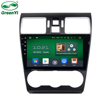 GreenYi 9 inch Octa Core Android 6.0 Auto PC Car GPS Radio For Subaru Forester WRX 2014 2015 2016 With TV Bluetooth 4G WiFi DVR(China)