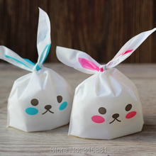 Cute rabbit Bakery Goodies / Candies / Wedding Favor Party Packaging bags 100pcs/lot