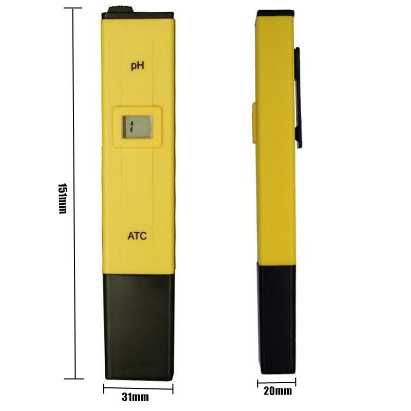 BY EXDEX/DHL 100pcs ATC PH METER Water Acid Tester DIGITAL Meter Pool Water Acidity Pocket Pen with retail box 4