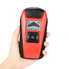 Multifunctional Handheld LCD Wall Stud Finder Metal Wood Studs AC Cable Live Wire Scanner Detector Tester(China)