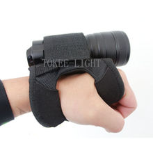 Hand Free Durable Light Holder Soft Glove for SCUBA Dive Diving Torch or Universal Flashlight Underwater