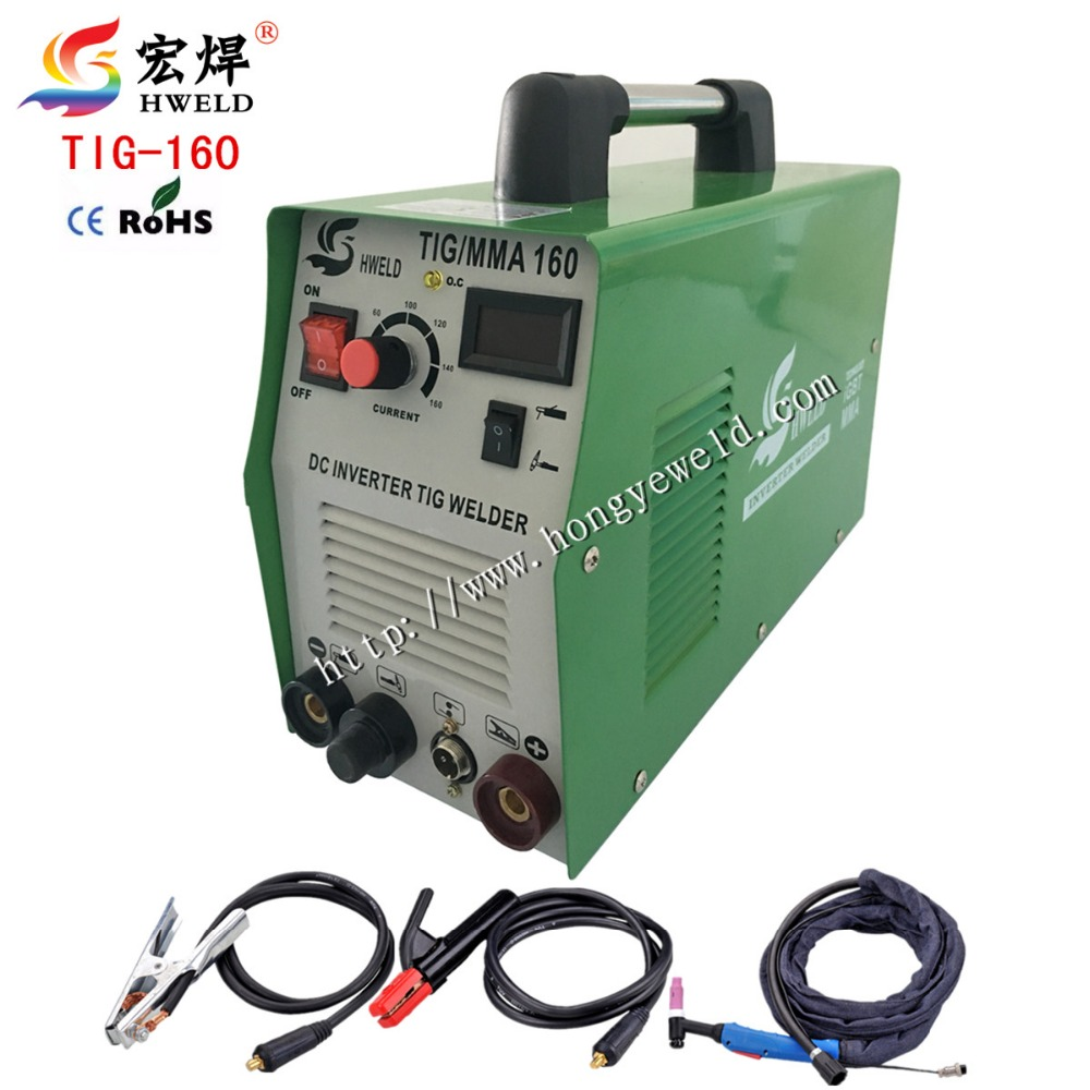 Tig Welder Inverter Weld DC Tig/ARC Welding Machine/equipment/device/welders MicroTIG160S For DIY With Accessory(China (Mainland))