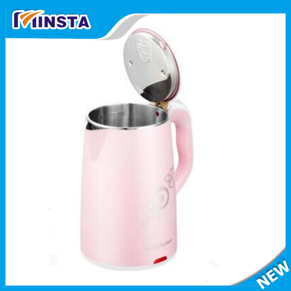 Stainless Steel Heat Preservation And Anti-burning Electric Kettle<br><br>Aliexpress