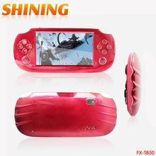 T850 4.3'' LCD 8GB 32bit Li-On NES Games Portable Handheld Video Game Player MP4 MP5 MP3 FM Camera Kids Toys Gift