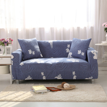 Sofa Covers Elastic Spandex Printed Rose Sofa Covers Polyester Protector Pattern Wave Gray Sofa Covers V20