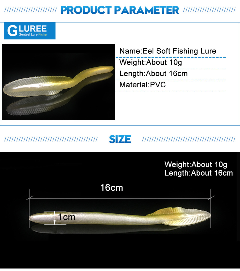 GLUREE-1Pcs-16cm-10g-Small-Eel-Fishing-Lure-PVC-Saltwater-Soft-Baits-Simulation-Eels-Artificial-Bait-Carp-Fishing-Tackle._03
