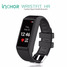 INCHOR WRISTFIT HR Smart Bracelet Bluetooth Smart Band Heart Rate Monitor Smart Wristband Fitness Tracker For Andriod IOS phone(China)