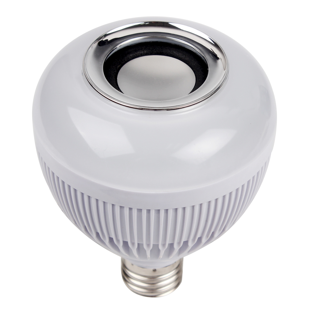 LED Speaker Bulb Audio Speaker E27 Home Decoration Bluetoorh Dimmable With 24 Keys Remote Control Music Playing Lamp Wireless<br><br>Aliexpress