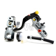 Single sell Motorcycle Cable Clutch Hydraulic brake clutch pump master cylinder handle for Ducati Honda Kawasaki Suzuki Yamaha