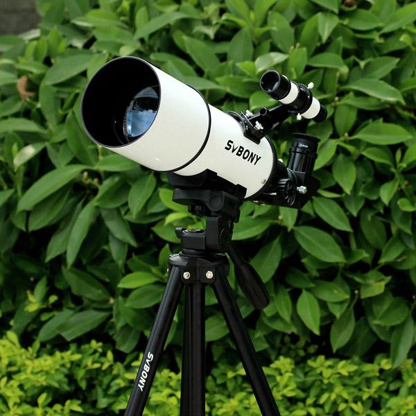 SVBONY 80mm Refractor Telescope Fully Coated Glass Optical 54 (30)