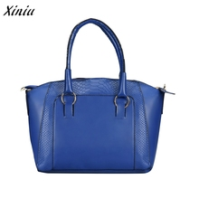 Women Shoulder Bag Faux Leather Satchel Crossbody Tote Handbag Large Capacity sac a main femme de marque Bolsas Femininas(China)