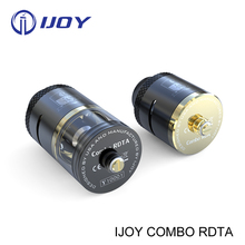 5pcs Original iJoy Combo RDTA Tank Sub Ohm Tank 6.5ml Side Filling System ijoy Limitless RDTA TORNADO RDA on hottest promotion