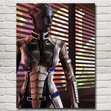 Mass Effect 2 3 4 Shooting Action Game Art Silk Poster Picture Bedroom Living Room Decor 12x16 18x24 24x32 Inches Free Shipping