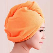 2017 1PC High Recommend Microfiber Bath Towel Hair Dry Hat Cap Quick Drying Lady Dry your Hair Bath Tools Free Shipping