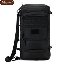 Lucky Gourd Hot 50L High Quality Nylon Bag Military 17 Inch Laptop Men  Backpack Travel Rucksack 1946b6e3181e4