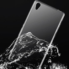 Ultra Thin Transparent Clear TPU Case For Sony Z1 Z2 Z3 Z4 Z5 Mini M2 E4 T3 C4 Crystal Back Protect Rubber Silicone Phone Bags