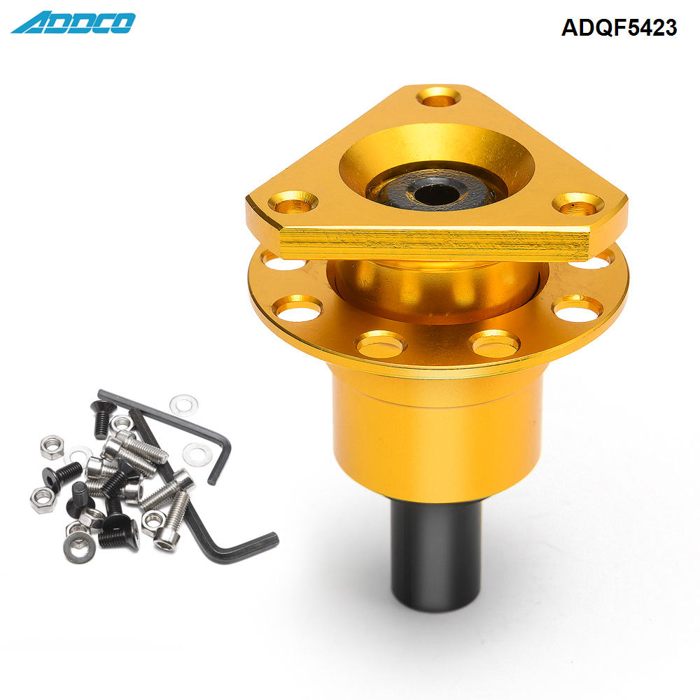 ADDCO Car Race Rally Off Quick Release Boss Kit Weld On Fit Steering Wheels ADQF5423