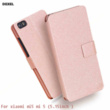 For Xiaomi Mi 5/Xiaomi m5 Cell Phone Case Luxury Flip Leather Cover Book Style Cover For Xiaomi mi5 Stand Mobile Phone Bag Cases