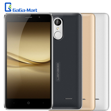 "New LEAGOO M5 5.0"" HD 3G WCDMA Smartphone Android 6.0 MTK6580A Quad Core 2GB+16GB 8MP Fingerprint Unlock Shockproof Mobile Phone(China)"