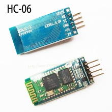 10pcs/lot HC-06 HC06 wireless Bluetooth board 4pin Bluetooth serial pass-through wireless serial communication module