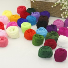 10PCS Multicolor Single Color Nylon Flower Stocking Making Accessory