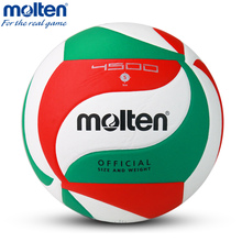 Official Size 5 Molten 4500 Volleyball Ball PU Leather Volleyball Indoor Handball Volley Ball Volei For Match Training