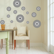 colorful circles wall stickers home decorations living room creative pvc wall decal DIY kids wall art bedroom poster