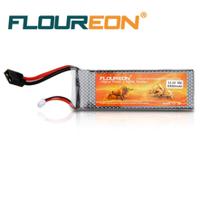 FLOUREON 11.1V 5500mAh 3S 35C Lipo RC Battery TRX Traxxas Plug for RC Helicopter RC Airplane RC Hobby(China)