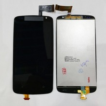 Original Black Full LCD Display& Touch Screen Assembly For HTC Desire 500 dual sim Free shipping