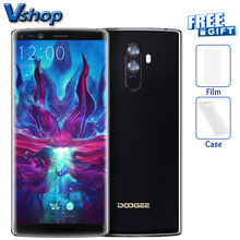 Original DOOGEE MIX 2 4G Mobile Phones Android 7.1 6GB+64GB Octa Core Smartphone 4 Cameras 5.99 inch 2160*1080 FHD+ Cell Phone(China)