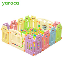 Baby Playpens Fencing For Children Kids Activity Gear Environmental Protection Barrier Game Safety Fence Educational Play Yard(China)