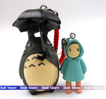 3-5cm 2pcs/LOT pvc Japanese anime figure cartoon My Neighbor Totoro action figure set kids toys for boy girls