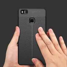 Luxury Ultra-Thin Soft TPU Leather Design Cases For Huawei P9 Lite Case For Huawei P8 P9 Lite 2017 P10 P10 Lite Honor 9 Case(China)