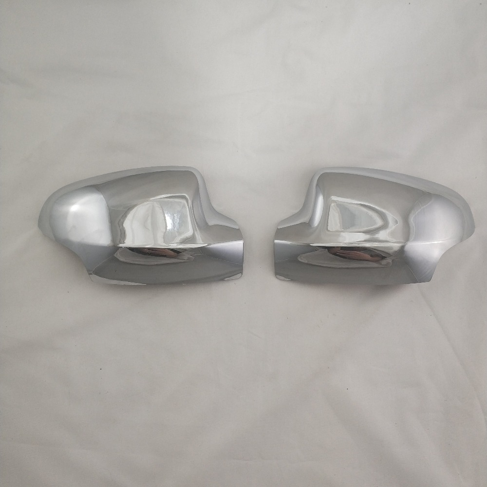 2 PCS Renault Trafic 2001-2014 Chrome Mirror Cover Stainless Steel