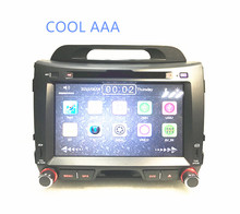 2din radio car dvd GPS for Kia  Sportage  2 din DVD GPS player  2011 2012 2013  free map  wifi bluetooth support 3G