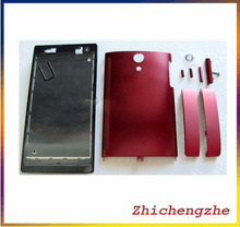 Full Housing For Sony Ericsson Xperia ion LT28 LT28i LT28h Battery Back Cover Door+Front Faceplate+Buttons(China)