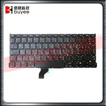 A1502 AR Keyboard For Apple Macbook Retina A1502 Arabic Keyboard Replacement Keyboards 2013 2014 2015