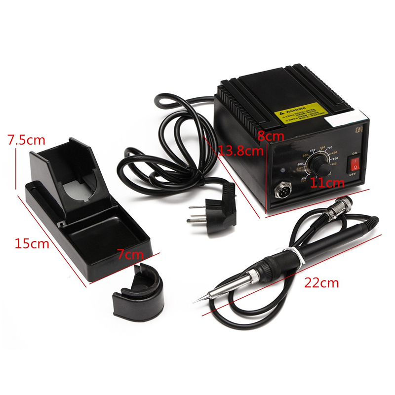 110V/220V 65W AC 24V Inverter Frequency Change Electric 936 Soldering Station Iron + Holder + Handle Welding Repair Kits<br>