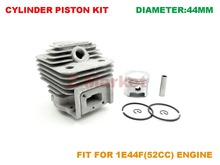 Cylinder Piston kit for MITSUBISHI TL52 51.7CC Brush Cutter.Grass Trimmer.Gasoline Engine Garden Tools Spare Parts
