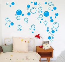 New Bubble Wall Art Bathroom Window Shower Tile Decoration Decal Kid wall Sticker