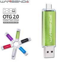 Fast Speed 2 in 1 OTG USB Flash Drive Pen Drive 4gb 8gb 16gb 32gb 64gb 128gb Pendrive Micro USB Stick for Android Mobile & PC