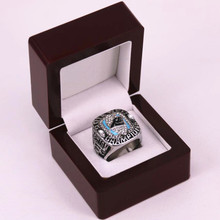 US Size 7 to 14! 2015 Carolina Panthers NFC National Football Championship Rings Replica NEWTON Solid Ring Drop Shipping(China)