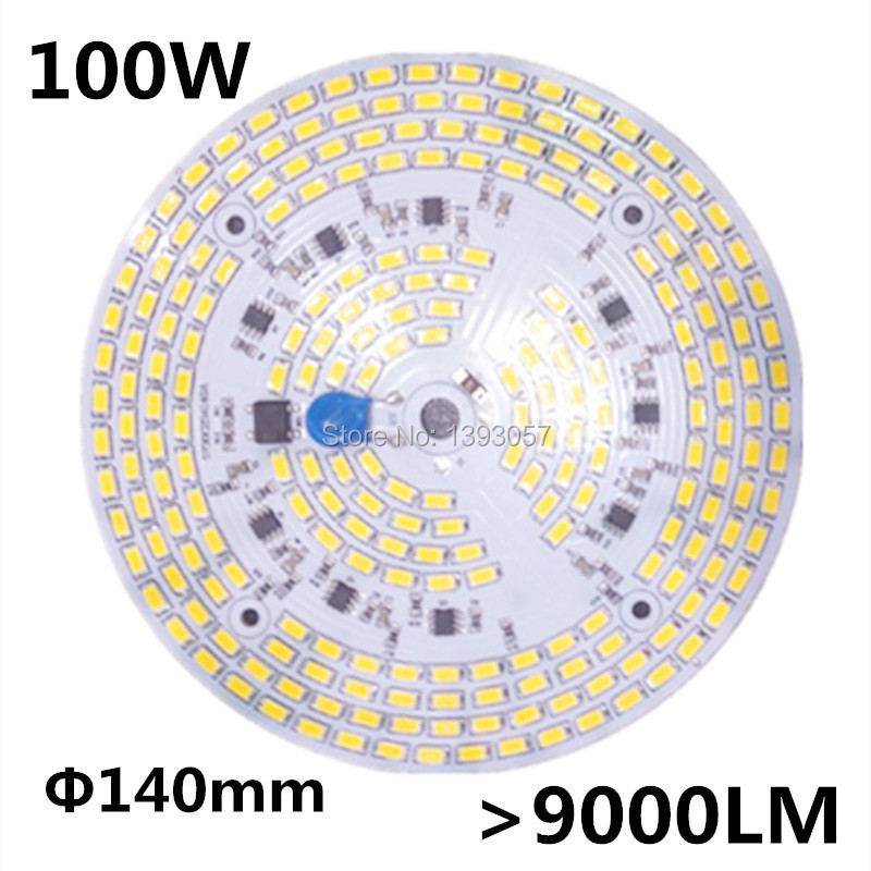 100W SMD 5730 5630 LED PCB with SMD5730 installed and IC driver . aluminum plate,free shipping<br>