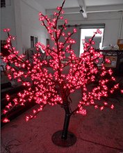 Free ship 648pcs LEDs 5ft 1.5m  LED Christmas holiday New year party  home Light Cherry Blossom Tree Red Outdoor Use waterproof