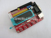 Free shipping Microchip pic microcontroller minimum system development board PIC16F877A + USB CABLE
