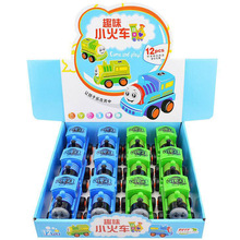 3pcs/lot ABS 9cm*6cm*6cm Thomas and Friends Train With Pull-back Function Thomas Trackmaster Come With Opp Bags